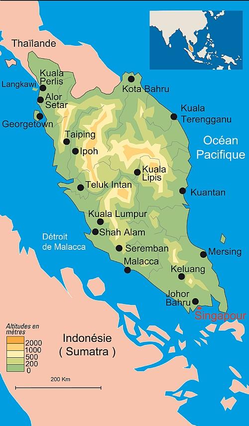 Carte Malaisie Singapour.Voyages Culturels Et Historiques De Clio